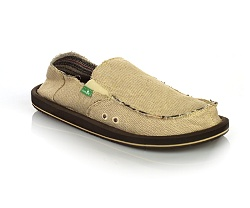 Sanuk Hemp Vegan Sandals Men's