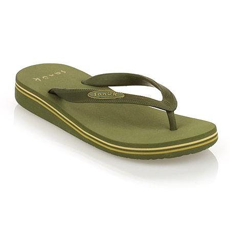 Sanuk Lido Sandals Women's (Olive)