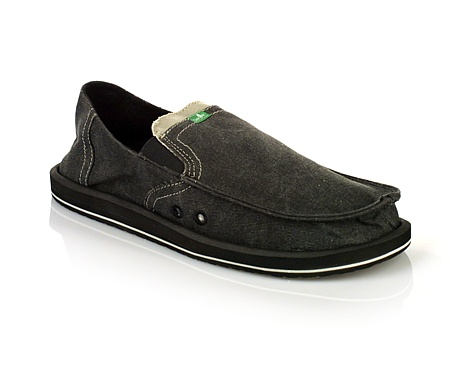 Sanuk Pick Pocket Sidewalk Surfer Men's (Charcoal)