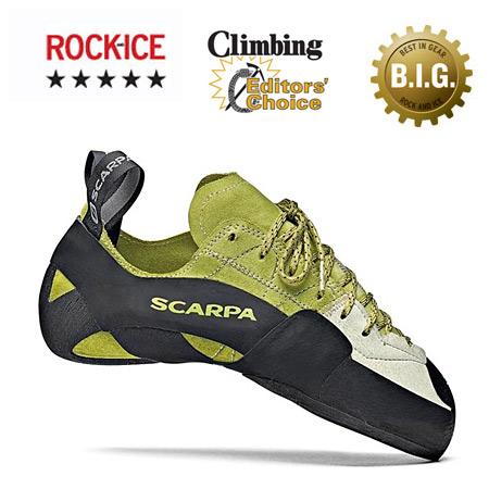 Scarpa Mago Climbing Shoe Men's (Apple Green)
