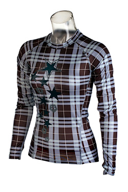 Sessions Diffusion Plaid Crew  Women's