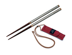 Snow Peak Carry-On Chopsticks (Stainless Steel)