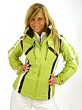 Spyder Lightning Jacket Women's (Aloe / White / Black)