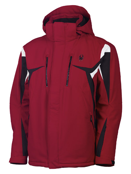 Spyder Rival Ski Jacket Men's (Red / Black / White)
