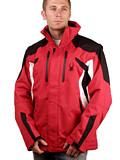 Spyder Rival Ski Jacket Men's (Red / Black / White)