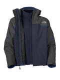 The North Face Bantum Fleece Triclimate Jacket  Men's (Deep Water Blue)