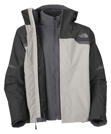 The North Bantum Fleece Triclimate Jacket  Men's (Moonlight Ivor