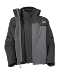 The North Face Bantum Fleece Triclimate Jacket  Men's (Zinc Grey)