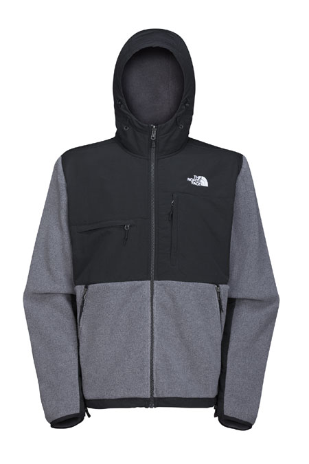The North Face Denali Hoodie Men's (R Charcoal Grey Heather)