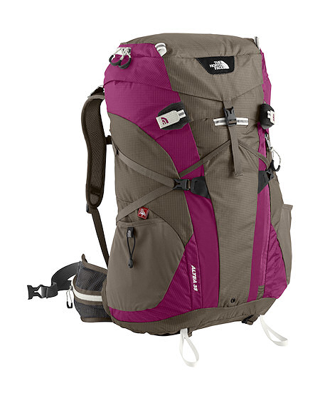 The North Face Altea 35 Backpack Women's (Weimaraner Brown/Berry