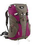 The North Face Altea 35 Backpack Women's (Weimaraner Brown/Berry Purple)