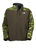 The North Face Apex Bionic Soft Shell Jacket 2009 Men's (New Taupe Green Print / Scottish)