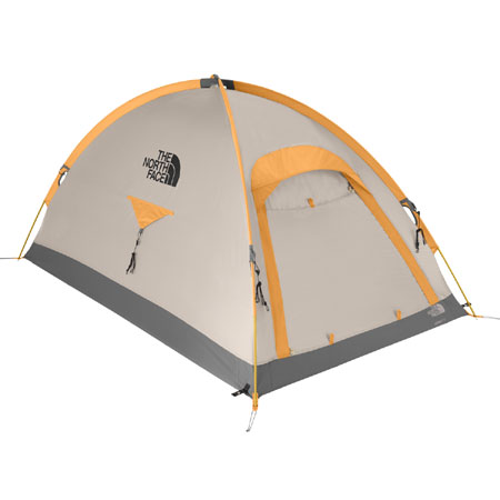 The North Face Assault 2 Person Expedition Tent (Summit Gold)