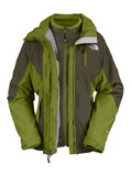 The North Face Atlas Triclimate Jacket Women's (Fig Green)