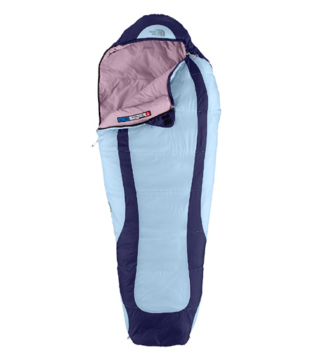 The North Face Blue Ridge Sleeping Bag Kids' (Tofino Blue / Dept