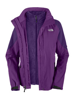 The North Face Boundary Triclimate Jacket Women's (Gravity Purple / Lunar Ice Grey)