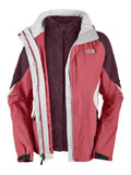 The North Face Boundary Triclimate Jacket Women's (Pink Pearl / Squid Red)