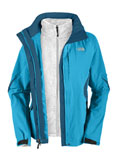 The North Face Boundary Triclimate Jacket Women's (Acoustic Blue / Octopus Blue)