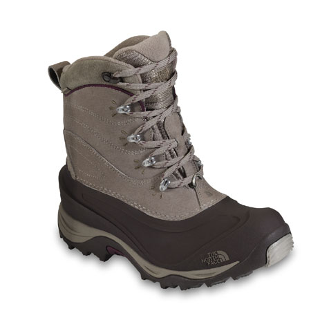 The North Face Chilkat II Boot Women's (Gravel Brown / Squid Red