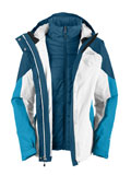 The North Face Closer Triclimate Jacket Women's (TNF White)