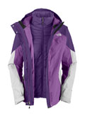 The North Face Closer Triclimate Jacket Women's (Gravity Purple)