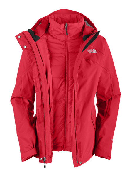 The North Face Closer Triclimate Jacket Women's (Response Red)