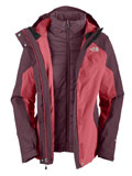 The North Face Closer Triclimate Jacket Women's (Pink Pearl)