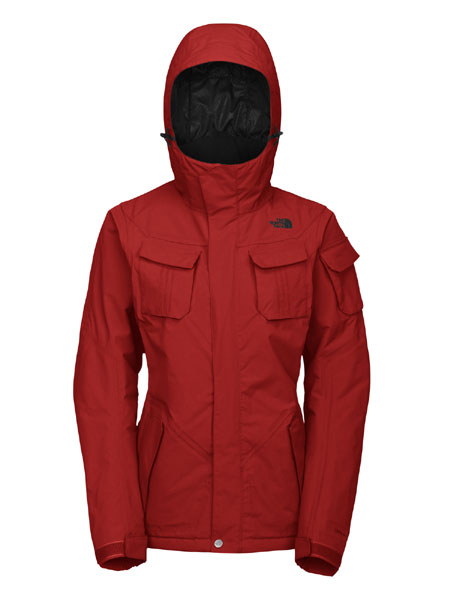 The North Face Decagon Jacket Women's (Riding Red)