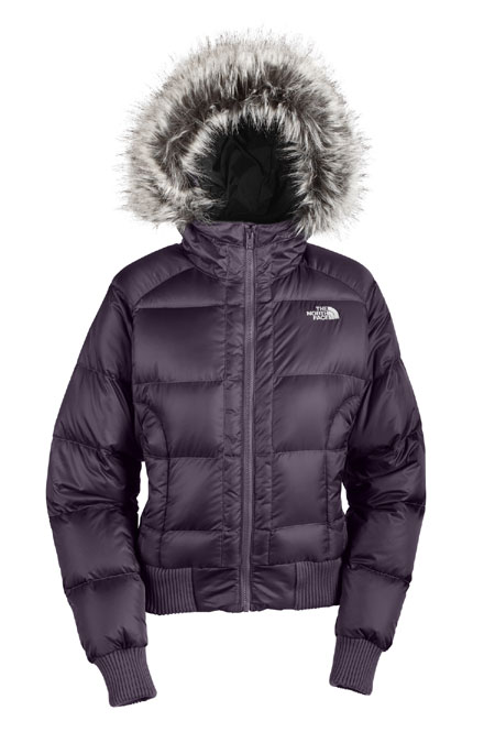 The North Face Gotham Jacket Women's (Dark Eggplant Purple)