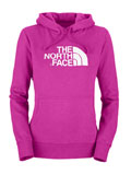 The North Face Half Dome Hoodie Women's (Fusion Pink / TNF White)