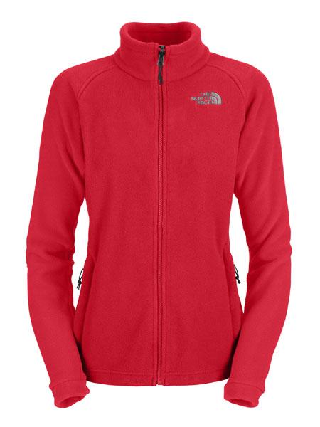 The North Face Khumbu Fleece Jacket Women's (Response Red)