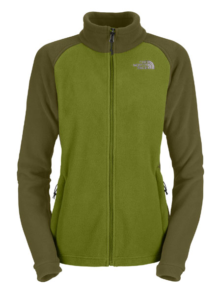 The North Face Khumbu Fleece Jacket Women's (Olivetto Green)