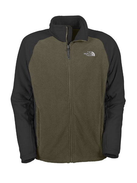 The North Face Khumbu Fleece Jacket Men's (Fig Green)