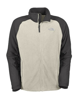 The North Face Khumbu Fleece Jacket Men's (Vingate White)