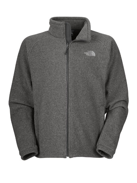 The North Face Khumbu Fleece Jacket Men's (Charcoal Grey Heather