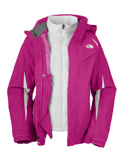 The North Face Kira Triclimate Jacket Women's (Fusion Pink)