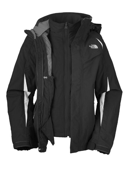 The North Face Kira Triclimate Jacket Women's (TNF Black)