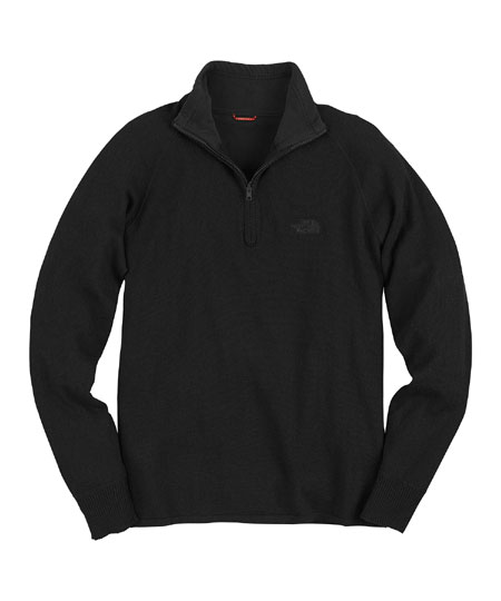 The North Face Mt.Tam 1/4 Zip Sweater Men's (Black)