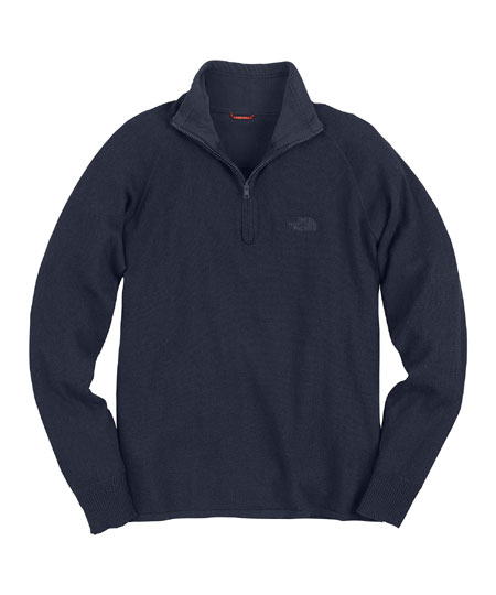 The North Face Mt.Tam 1/4 Zip Sweater Men's (Deep Water Blue)