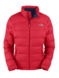 The North Face Nuptse 2 Jacket Women's (Response Red)