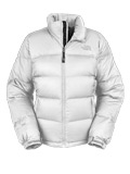 The North Face Nuptse Down Jacket Women's (White)