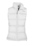 The North Face Nuptse Down Vest Women's (White)