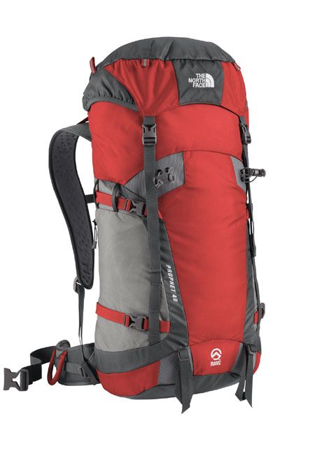 The North Face Prophet 40 Technical Backpack (Centennial Red)