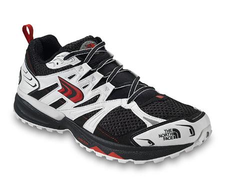 The North Face Single-Track Trail Shoe Men's (Black / TNF Red)