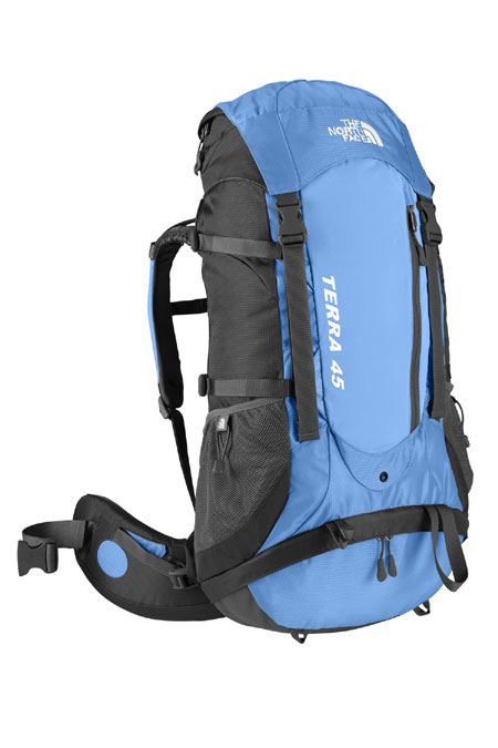 The North Face Terra 45 Hiking Backpack Women's (Shoreline Blue