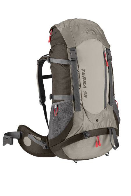The North Face Terra 55 Hiking Backpack Women's (Weimaraner Brow