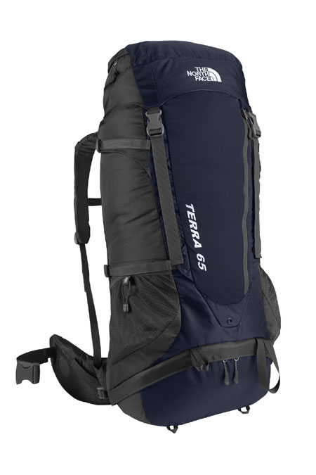 The North Face Terra 65 Hiking Backpack (Deep Water Blue / Aspha
