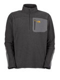 The North Face TKA 100 Classic Trinity Alps Fleece Pullover Men's (Graphite Grey)