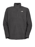 The North Face TKA 100 Microvelour Glacier 1/4 Zip Men's (Graphite Grey)