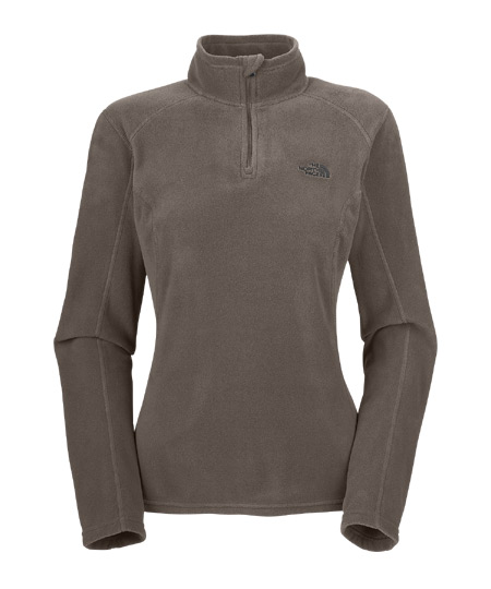 The North Face TKA 100 Microvelour Glacier 1/4 Zip Women's (Weim